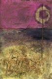 Abstract Pictogram Royalty-vrije Stock Afbeeldingen
