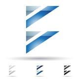 Abstract pictogram voor brief B Royalty-vrije Stock Foto