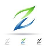 Abstract pictogram voor brief Z Royalty-vrije Stock Foto's