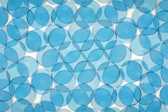 Abstract picture. Abstract background consisting of blue glass balls Royalty Free Stock Image