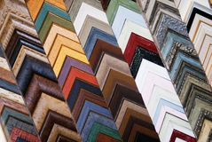 Abstract Picture Frame Colors Royalty Free Stock Photos