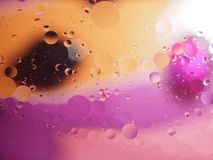 Abstract pictures. Multicolored circles on a colorful background. Abstraction. Wallpaper Royalty Free Stock Photos