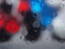 Abstract pictures. Multicolored circles on a colorful background Royalty Free Stock Photos