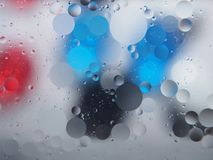 Abstract pictures. Multicolored circles on a colorful background. Abstraction. Wallpaper Royalty Free Stock Photo