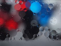 Abstract pictures. Multicolored circles on a colorful background. Abstraction. Wallpaper Stock Photo