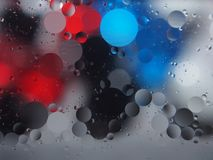 Abstract pictures. Multicolored circles on a colorful background. Abstraction. Wallpaper Royalty Free Stock Images