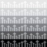 Abstract pijlen Naadloos patroon als achtergrond Stock Foto's