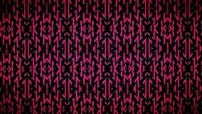 Abstract Pijlen zwart en rood patroon stock fotografie