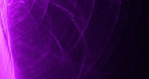 Abstract Pink And Purple Light Glows, Beams, Shapes On Dark Background Royalty Free Stock Photo