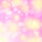 Abstract pink background. With bokeh and sparkless Royalty Free Stock Image