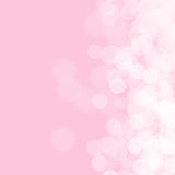 Abstract pink background for birthday Stock Photo