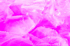 Abstract pink background. Abstract background created using plastic sheeting against a pink background Royalty Free Stock Images