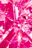 Abstract pink background of crystal refractions Stock Image