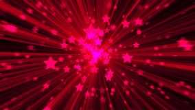 Abstract pink background. Digital explosion star. 3d rendering Stock Image