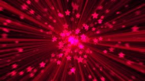 Abstract pink background. Digital explosion star. 3d rendering Royalty Free Stock Photography