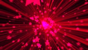 Abstract pink background. Digital explosion star. 3d rendering Royalty Free Stock Image