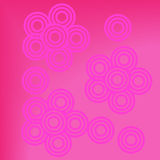 Abstract pink background floral Royalty Free Stock Photography