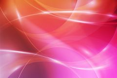 Abstract pink background with luminous lines. Fashion backdrop stock illustration