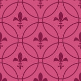 Abstract pink background of the royal lilies. Royalty Free Stock Images