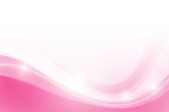 Abstract Pink background with simply curve lighting element. Abstract background pink curve and wave element vector illustration Royalty Free Stock Photo