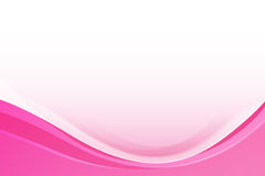 Abstract Pink background with simply curve lighting element. Abstract background pink curve and wave element vector illustration Stock Image