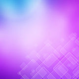 Abstract Pink background with transparent squares. Royalty Free Stock Images