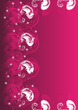 Abstract pink background. Vector illustration of abstract pink background Royalty Free Stock Photo