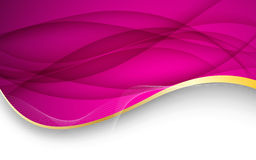 Abstract pink background. Vector Illustration Royalty Free Stock Images