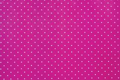 Abstract Pink Background with white dots Stock Photo