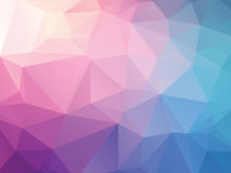 Abstract pink blue background. Modern abstract pink blue background stock illustration