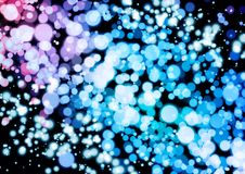 Abstract pink blue purple color bokeh wallpaper Stock Photos