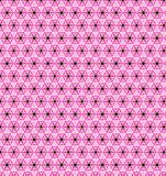 Abstract pink blue white flower wallpaper Stock Photography