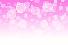 Abstract pink bokeh background royalty free illustration