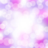 Abstract pink bokeh background Royalty Free Stock Images