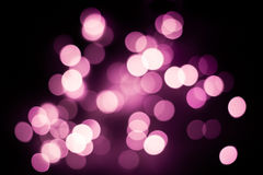 Abstract pink bokeh background Stock Photos