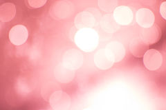Abstract pink bokeh background Royalty Free Stock Image