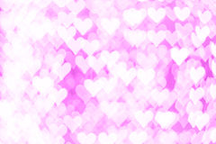 Abstract Pink bokeh backround of happy new year or christmas lig Royalty Free Stock Photo