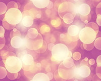 Abstract pink bokeh wallpaper Stock Photography