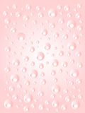 Abstract pink circles background Royalty Free Stock Image