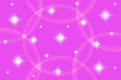 Abstract pink color background with star Stock Photos