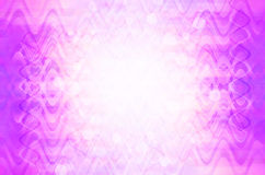 Abstract pink curves lines background. Royalty Free Stock Photos