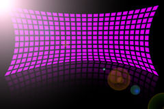 Abstract pink displays Stock Photo