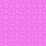 Abstract pink floral pattern. Seamless illustration. Royalty Free Stock Images