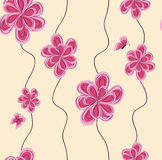 Abstract pink flower Royalty Free Stock Photos