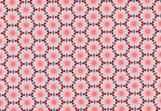 Abstract pink flower pattern wallpaper. Abstract pink flower pattern background vector illustration