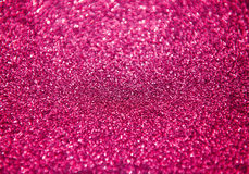 Abstract Pink Glitter For Background Stock Photos