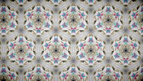 Abstract pink gold luxury exclusive flower wallpaper Royalty Free Stock Images