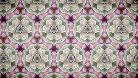 Abstract pink gold luxury exclusive flower wallpaper Stock Images