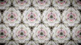 Abstract pink gold luxury exclusive flower wallpaper Stock Image