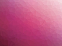 Abstract pink gradient low polygon shaped background.  Royalty Free Stock Images